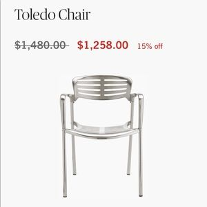 One Tolendo chair
